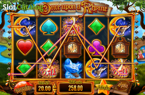 Screen11. Once upon a Rhyme (Video Slot from Blueprint)