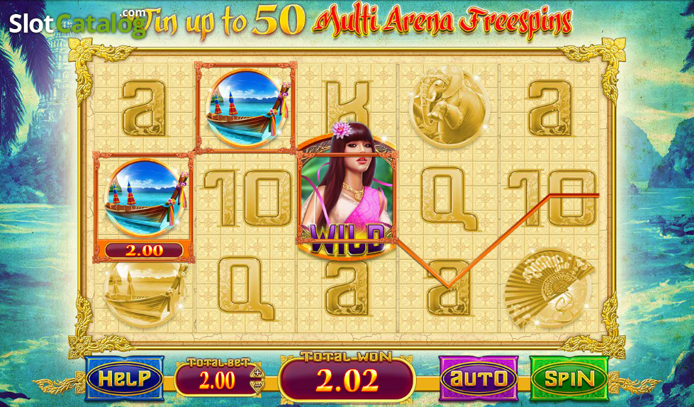 Review of thai princess video slot from blueprint slotcatalog thai princess video slot from blueprint malvernweather Choice Image