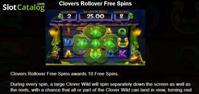 Review of wish upon a leprechaun video slot from blueprint paytable 2 malvernweather Images