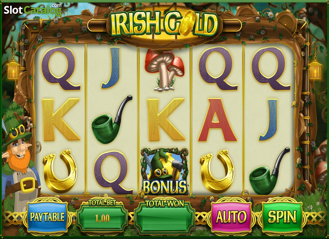 Review of irish gold blueprint video slot from blueprint reels screen malvernweather Images