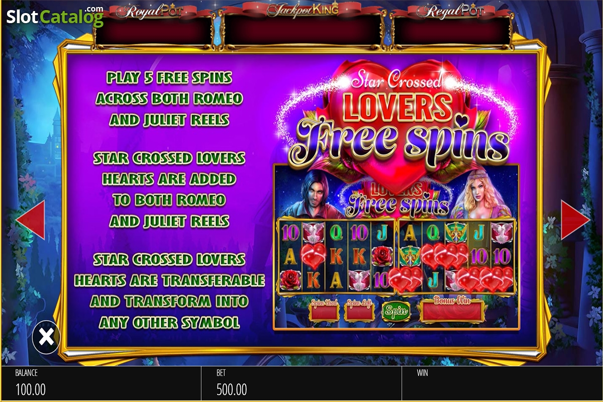 Review of romeo juliet video slot from blueprint rtp9259 paytable 3 malvernweather Image collections