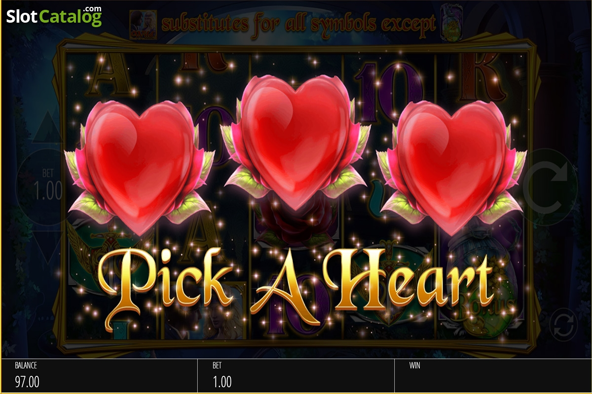 Review of romeo juliet video slot from blueprint rtp9259 pick a heart feature screen malvernweather Image collections