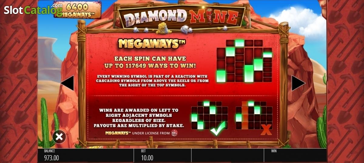 Review of diamond mine blueprint video slot from blueprint diamond mine blueprint video slot from blueprint paytable 3 malvernweather Images