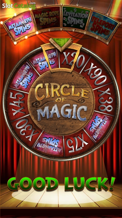 Review of magic ian video slot from blueprint slotcatalog bonus wheel screen 2 malvernweather Images