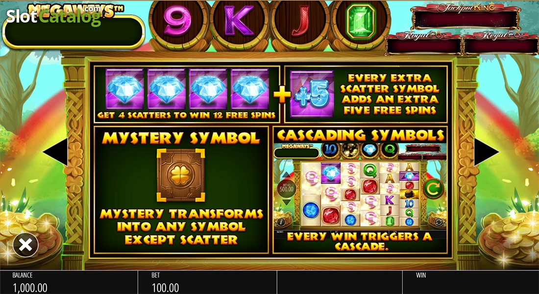 Irish Riches Megaways Slot Machine