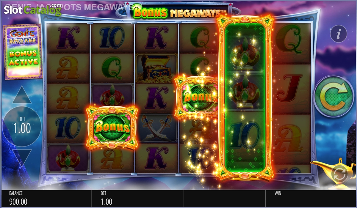 Clip real genie jackpots megaways blueprint casino slots vegas video kickapoo