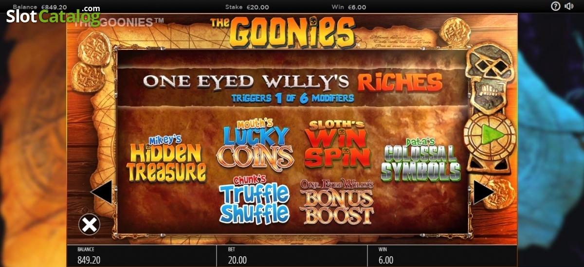 Spiele The Goonies - Video Slots Online