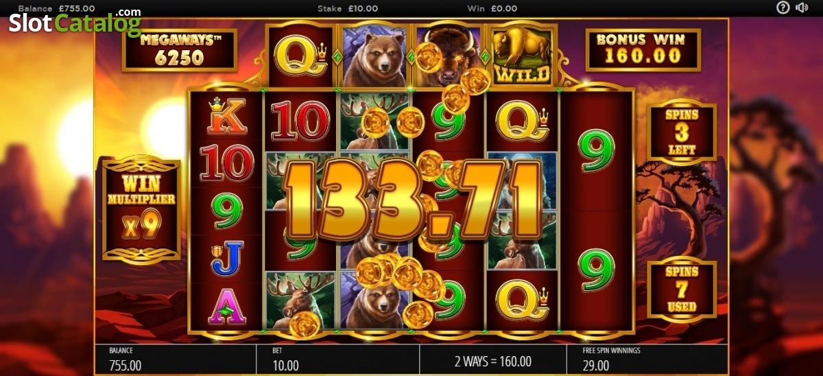 Spiele Buffalo Rising Megaways - Video Slots Online