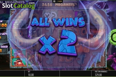 Free Spins Multiplier. Primal MegaWays (Video Slots from Blueprint)