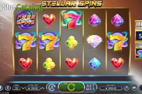 Free Spins Reels. Stellar Spins (Video Slots from Booming Games)