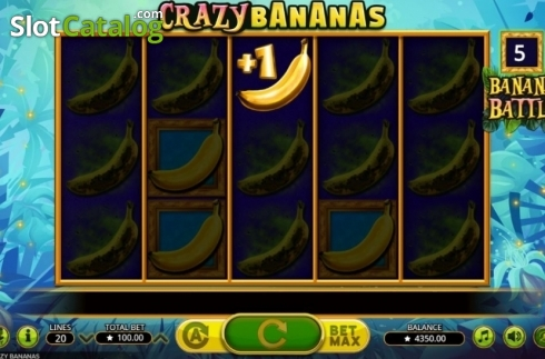 Respin. Crazy Bananas (Video Slot from Booming Games)