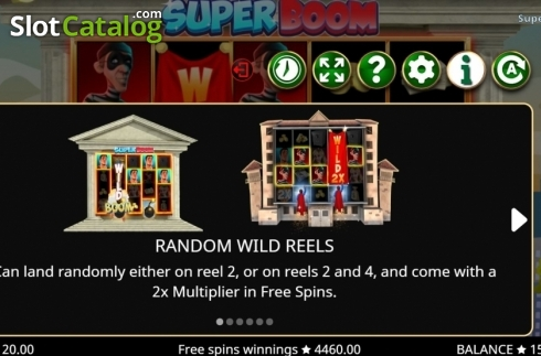 Features 1. Super Boom (Video Slot from Booming Games)