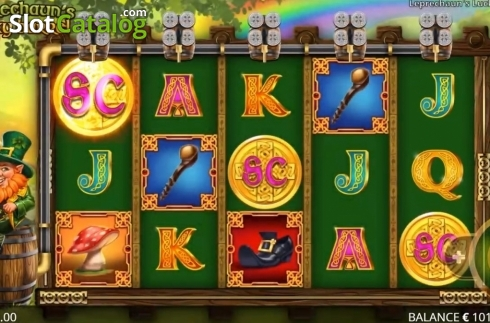 Reel Screen. Leprechaun's Lucky Barrel (Video Slots from Booming Games)