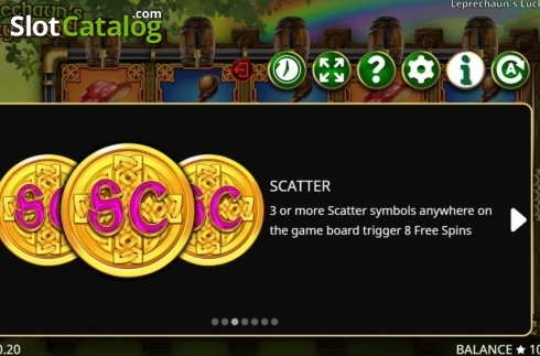 Features 3. Leprechaun's Lucky Barrel (Video Slots from Booming Games)