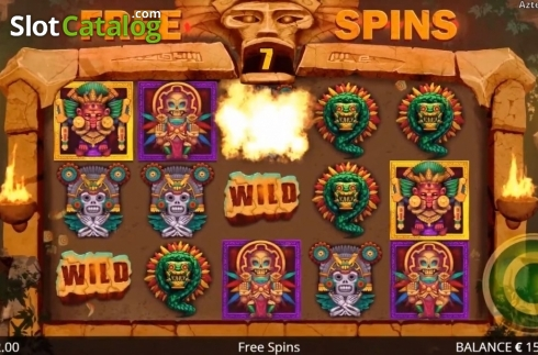 Képernyő9. Aztec Palace (Video Slot tól től Booming Games)