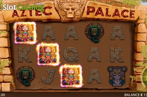Képernyő2. Aztec Palace (Video Slot tól től Booming Games)