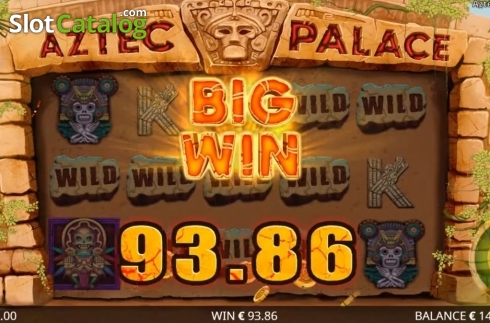 Képernyő3. Aztec Palace (Video Slot tól től Booming Games)