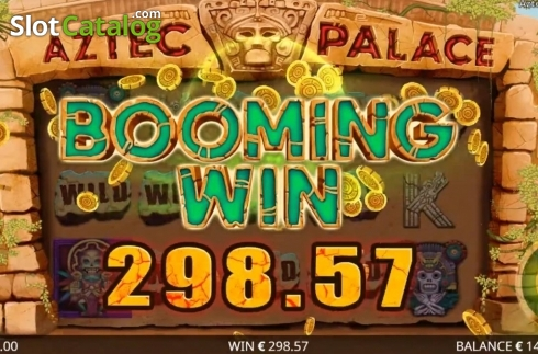 Képernyő4. Aztec Palace (Video Slot tól től Booming Games)