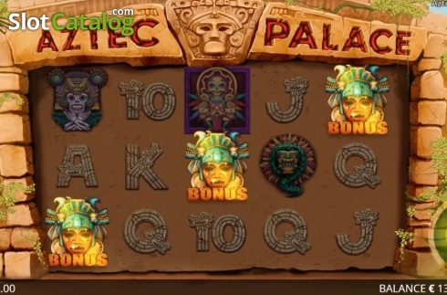 Képernyő5. Aztec Palace (Video Slot tól től Booming Games)