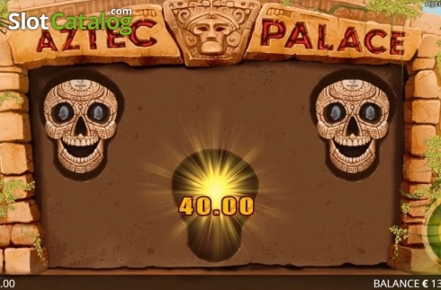 Képernyő6. Aztec Palace (Video Slot tól től Booming Games)