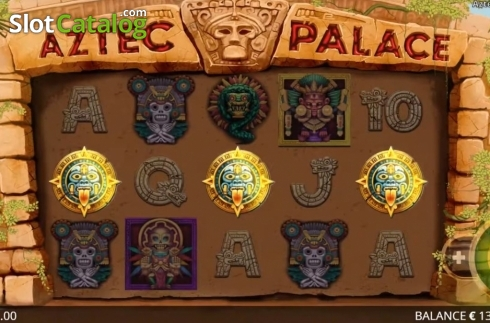 Képernyő7. Aztec Palace (Video Slot tól től Booming Games)