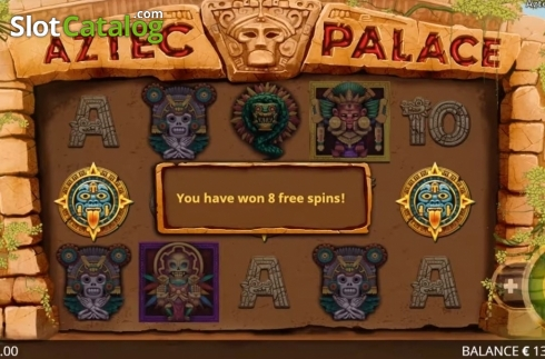 Képernyő8. Aztec Palace (Video Slot tól től Booming Games)