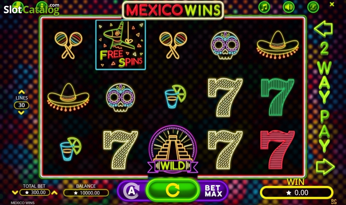 Spiele Mexico Wins - Video Slots Online