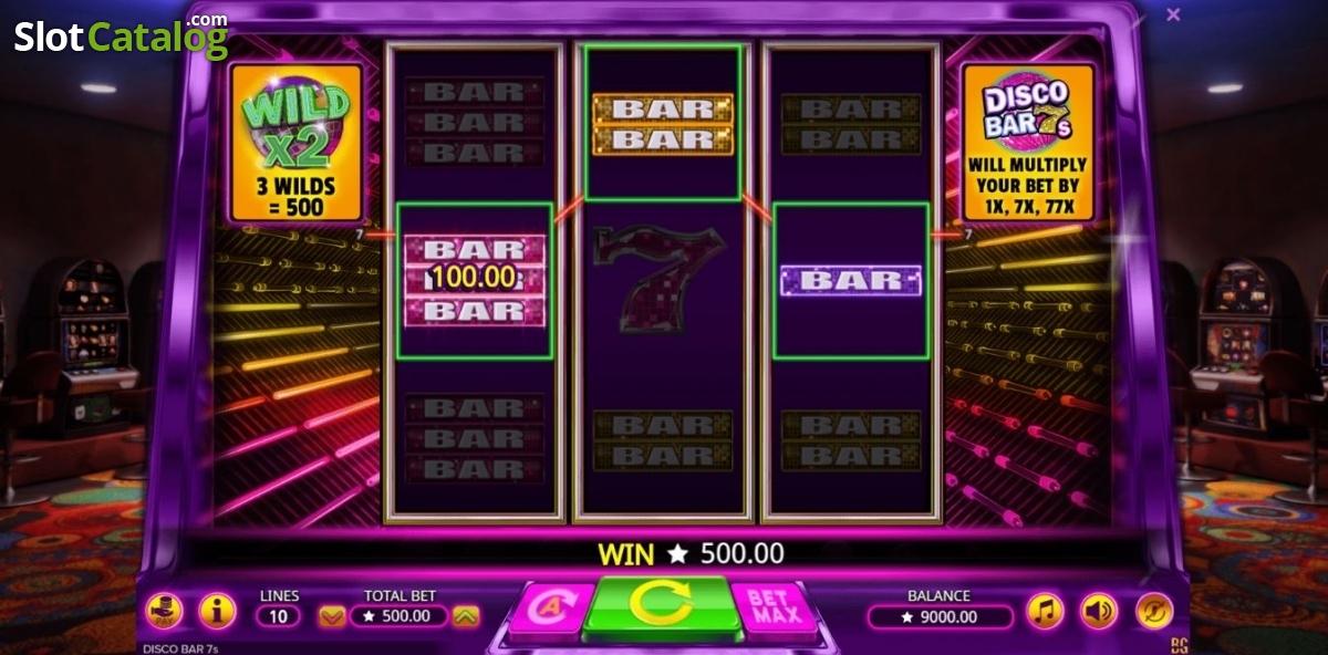 Disco Bar 7s Slot Machine