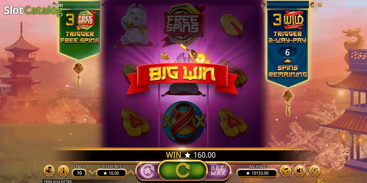 Feng Shui Kitties Slot Review Bonus Codes Where To Play From Uk