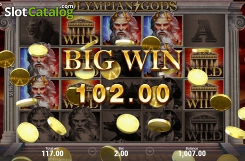 Ecran7. Olympian Gods (Slot video din Booongo)