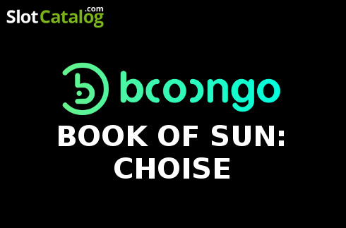 Book of Sun: Choice 2020-05-06