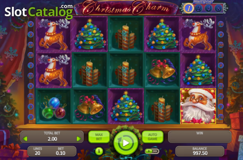 Christmas Charm (Video Slot từ Booongo)