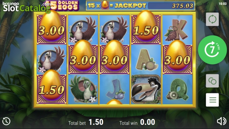 Spiele 15 Golden Eggs - Video Slots Online