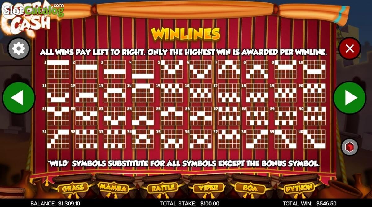 Cobra hearts slot machine youtube