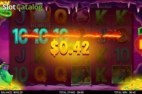 Win Screen 1. Flamin Elle (Video Slot from CORE Gaming)