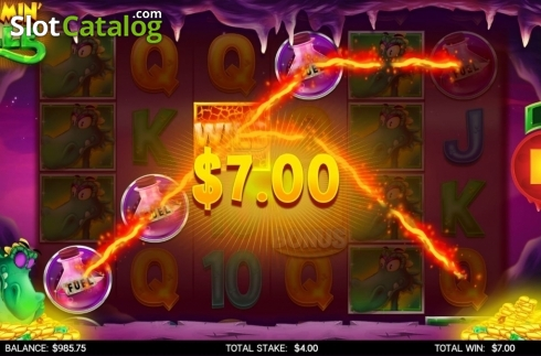Win Screen 2. Flamin Elle (Video Slot from CORE Gaming)
