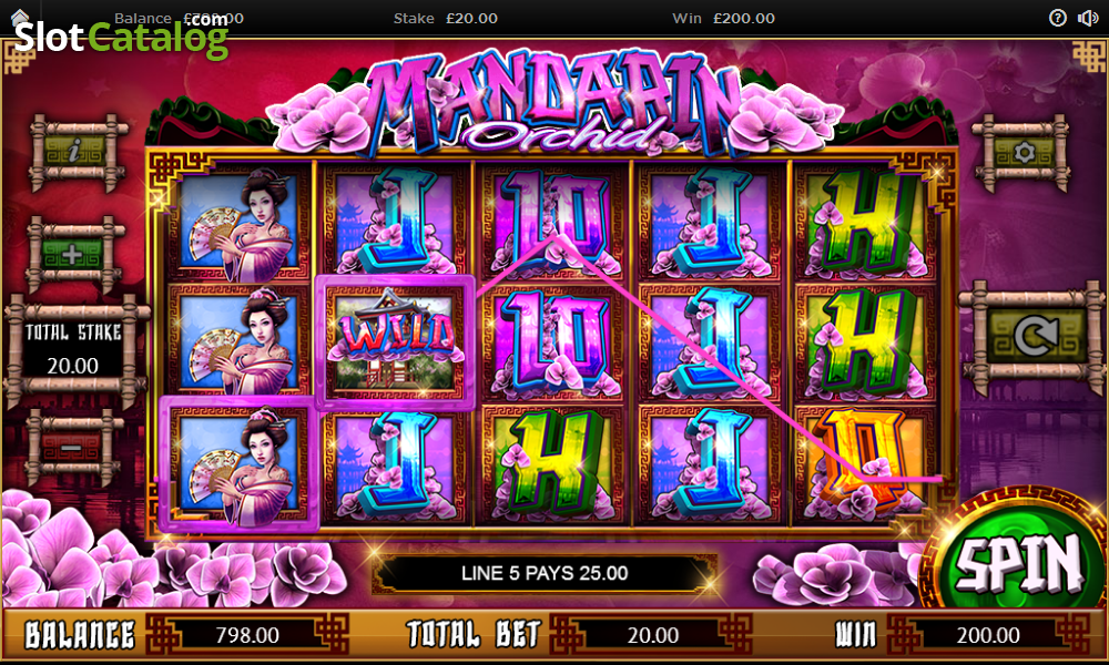 Spiele Mandarin Orchid - Video Slots Online