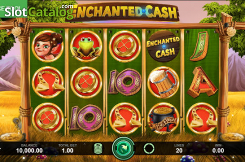 Reel Screen. Enchanted Cash (Video Slot from Caleta Gaming)