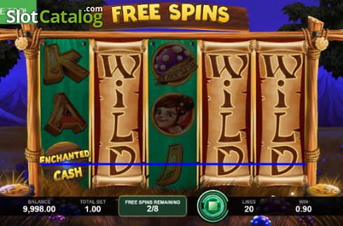Wild Win. Enchanted Cash (Video Slot from Caleta Gaming)