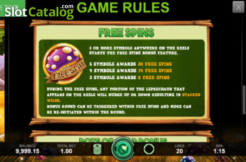 Free Spines Rules. Enchanted Cash (Video Slot from Caleta Gaming)