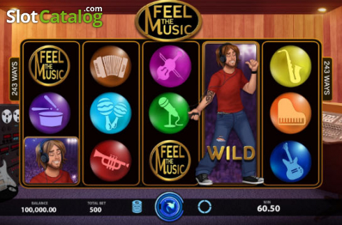 Feel The Music (Video Slots from Caleta Gaming)
