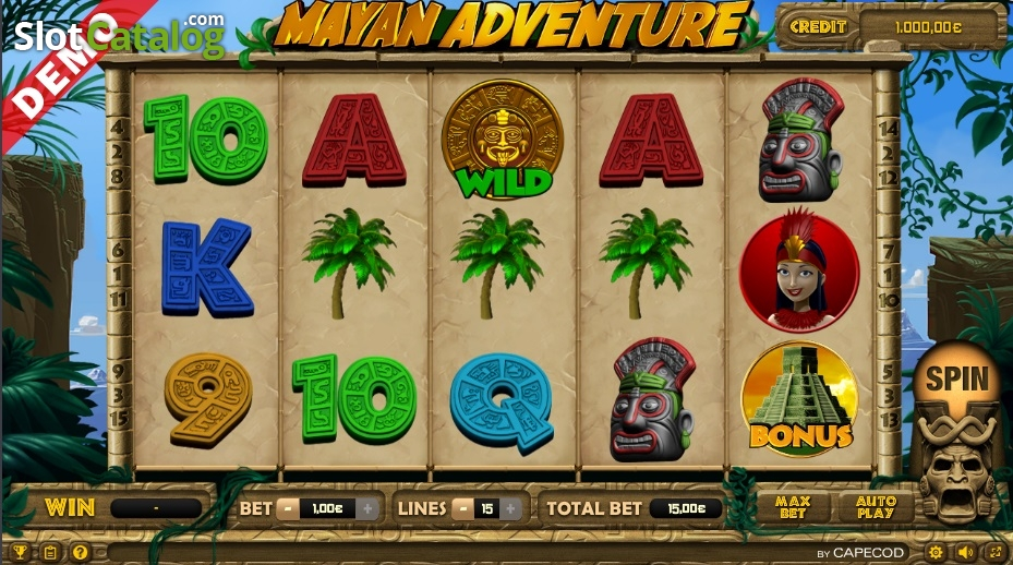 Spiele Mayan Adventure - Video Slots Online