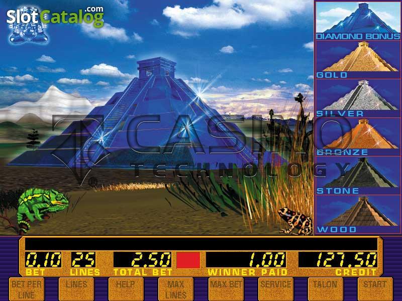 Игровой автомат Aztec Gold играть на деньги в Пирамиды онлайн