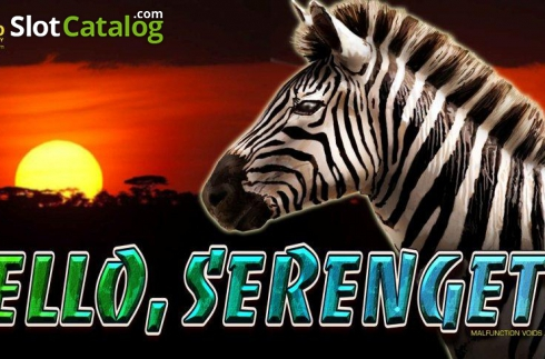 Hello, Serengeti (Video Slots from Casino Technology)