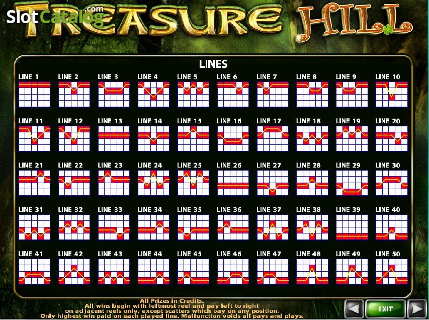 Casino spiele treasure hill