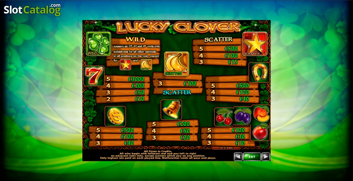 Spiele Four Lucky Clover - Video Slots Online