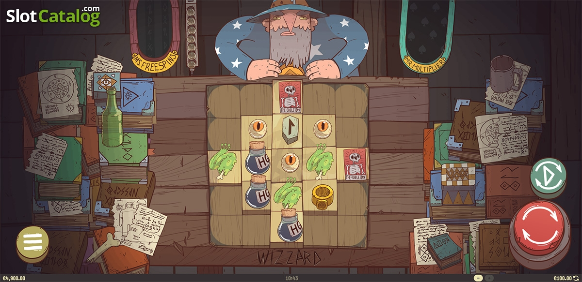 Wizzard Slot ᐈ Game info + Review