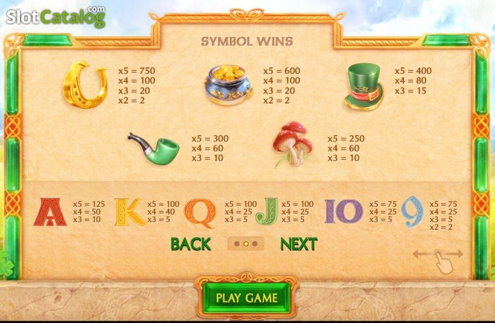 Irish Clover Slot - Play Cayetano Gaming Slots for Free