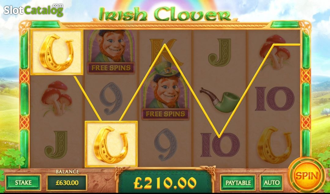 Irish Clover Slot - Play Cayetano Gaming Slots for Free