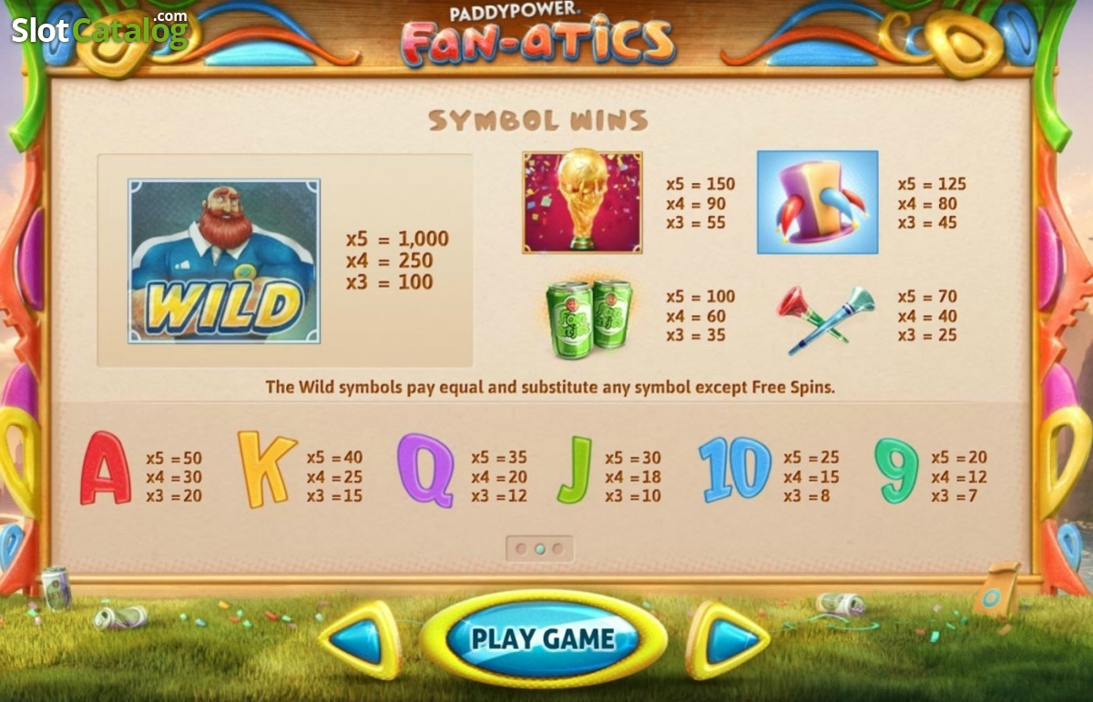 Paddy Power Slots For Free